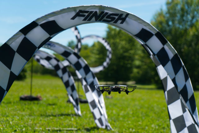 Drone Racing formation